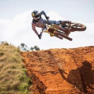 Bilde av motocrossutøver