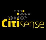 Citisense logo med brikker